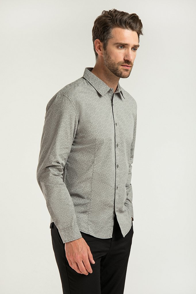 Рубашка мужская, Модель B20-22024, Фото №1