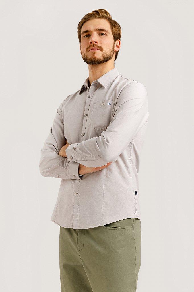 Рубашка мужская, Модель B20-42010, Фото №3