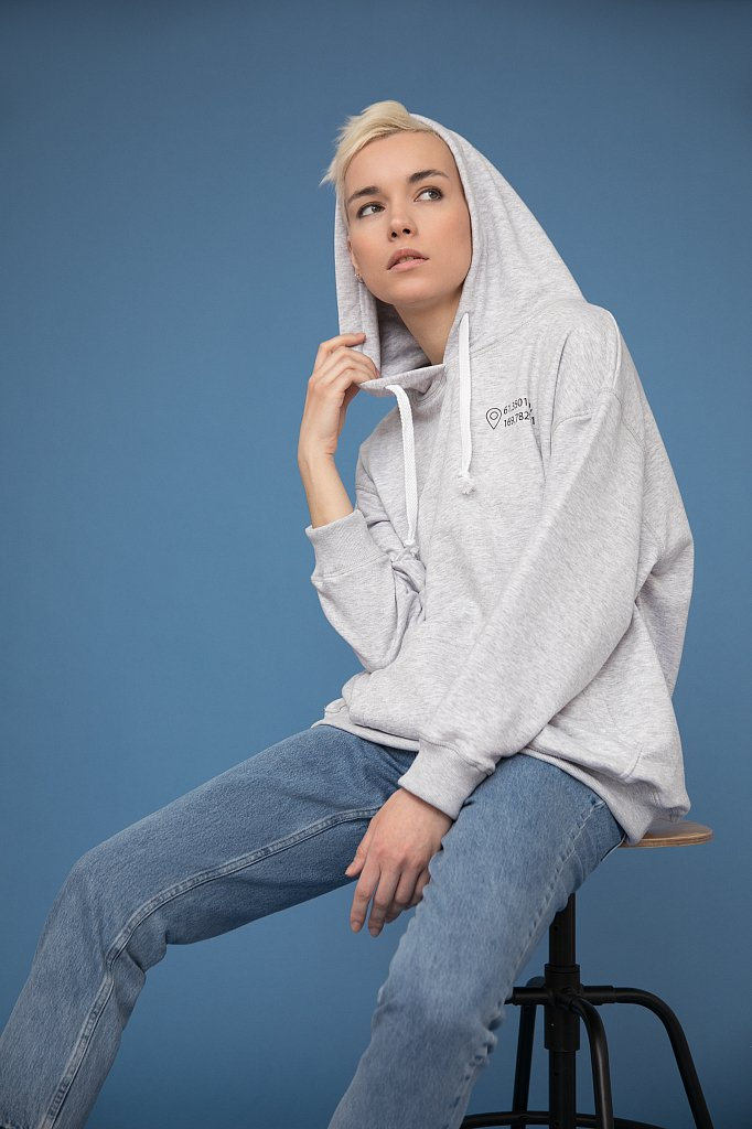 Худи женское, Модель B20-51001, Фото №1