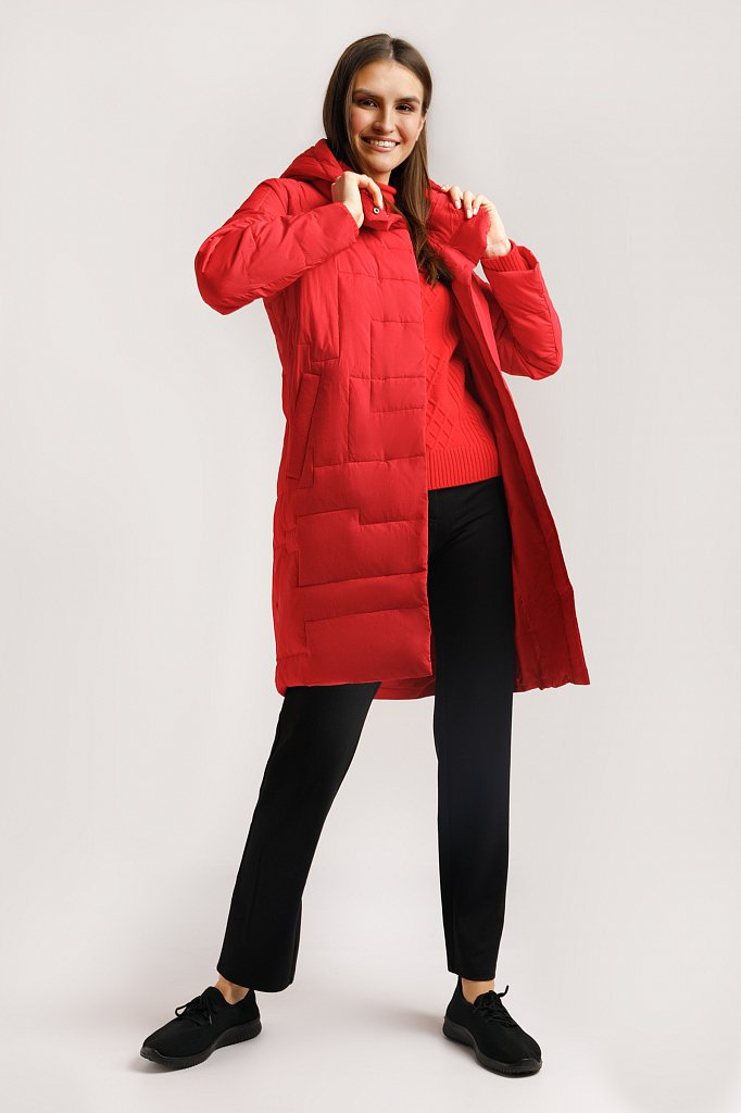 Пальто женское, Модель B20-32051, Фото №2