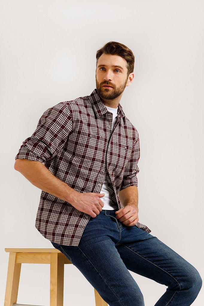 Рубашка мужская, Модель B20-22048, Фото №1