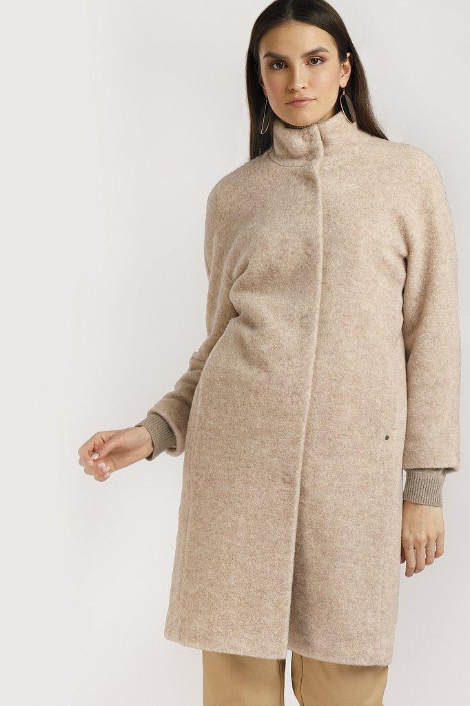 Пальто женское, Модель B20-12035, Фото №1