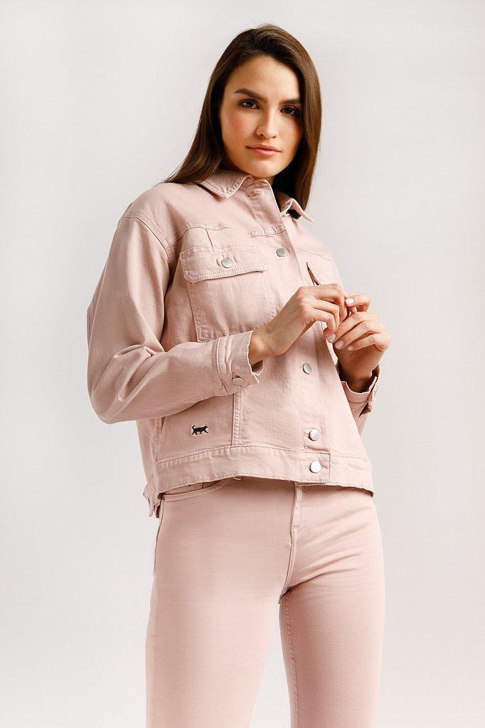 Куртка джинсовая женская, Модель B20-15000, Фото №1