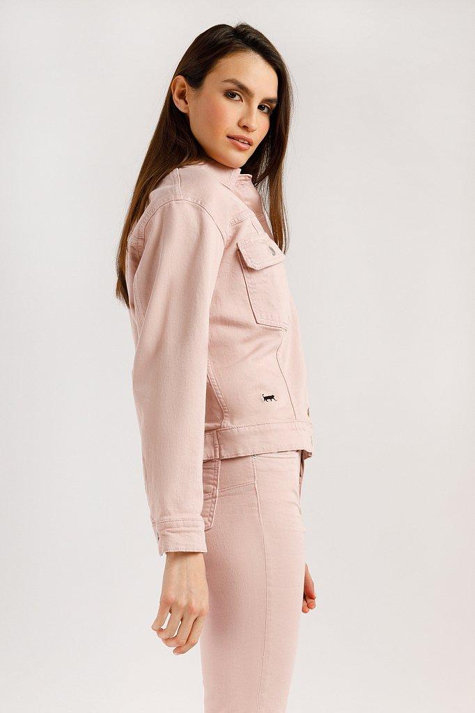 Куртка джинсовая женская, Модель B20-15000, Фото №2