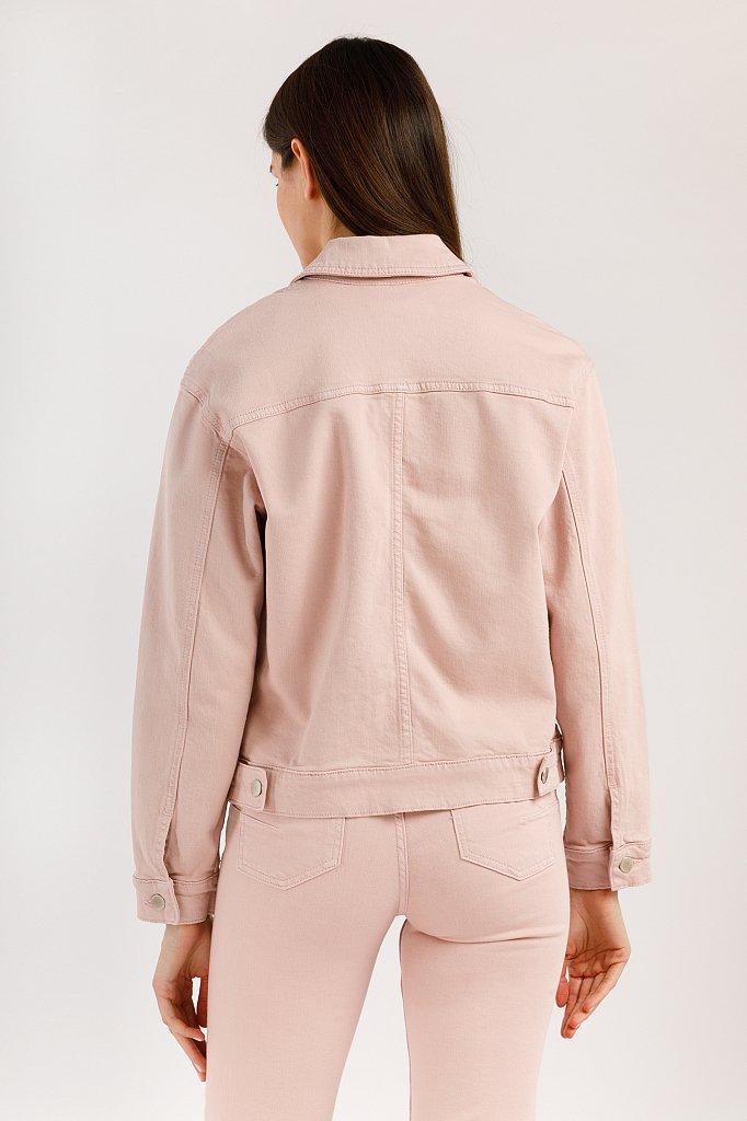 Куртка джинсовая женская, Модель B20-15000, Фото №3