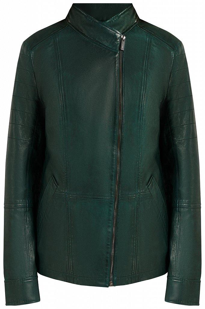 Куртка кожаная женская, Модель B20-11801, Фото №7