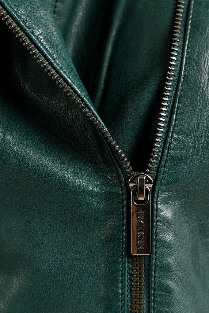 Куртка кожаная женская, Модель B20-11801, Фото №6