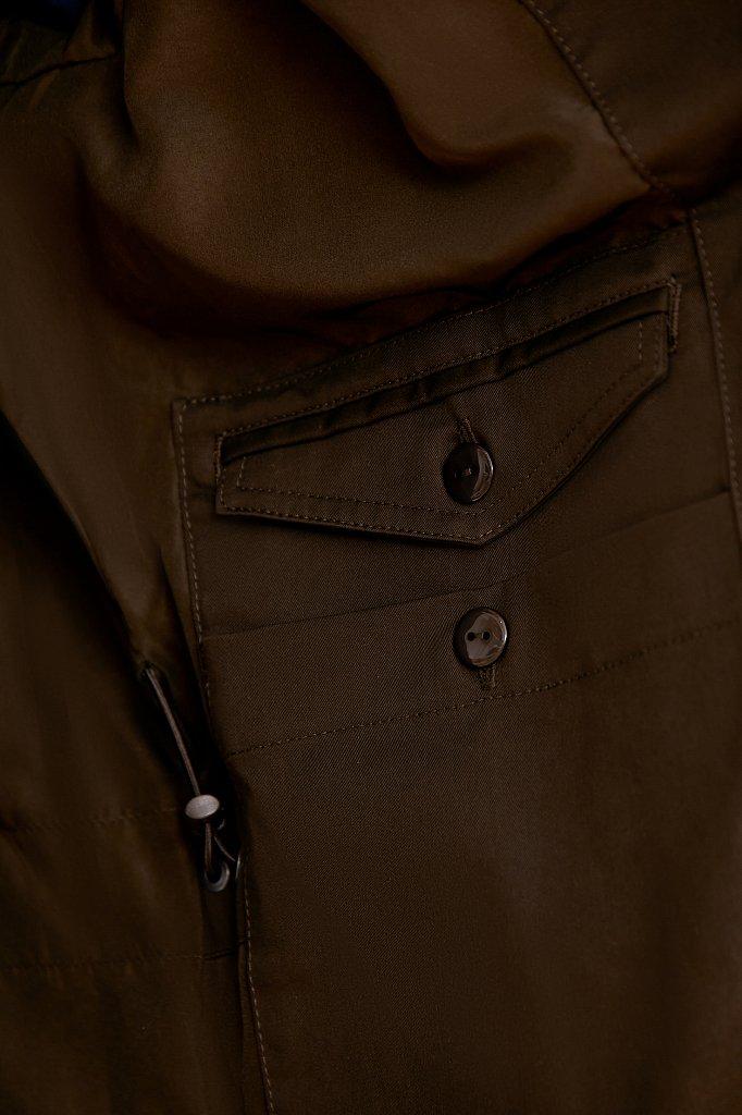 Плащ мужской, Модель B20-22001, Фото №5