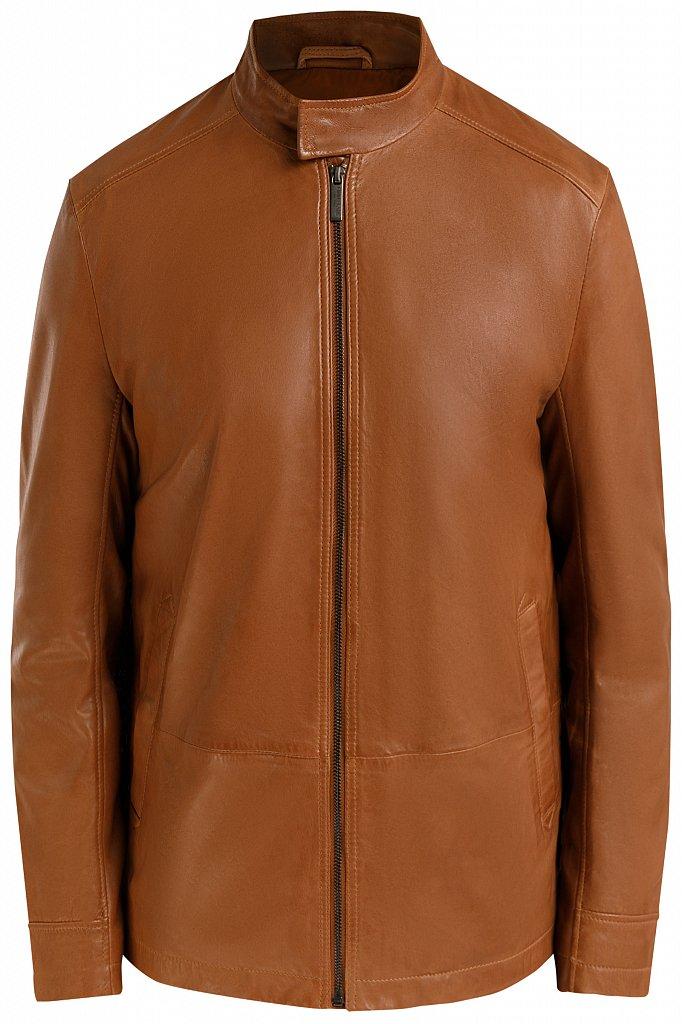 Куртка кожаная мужская, Модель B20-21800, Фото №8
