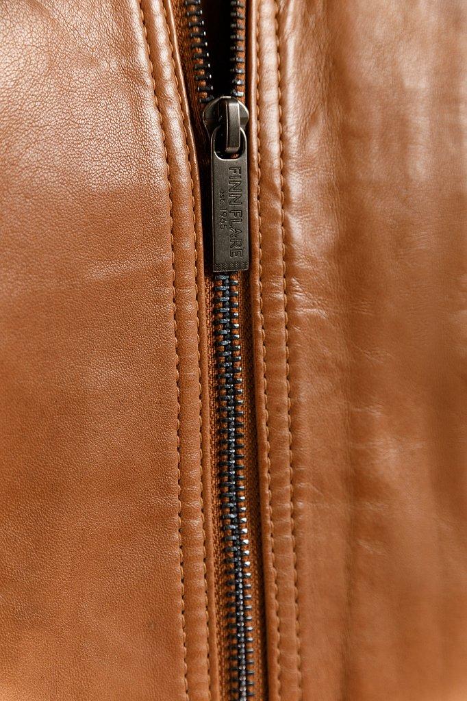 Куртка кожаная мужская, Модель B20-21800, Фото №7