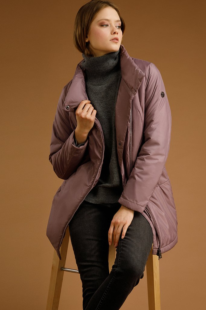 Полупальто женское, Модель B20-11099, Фото №1