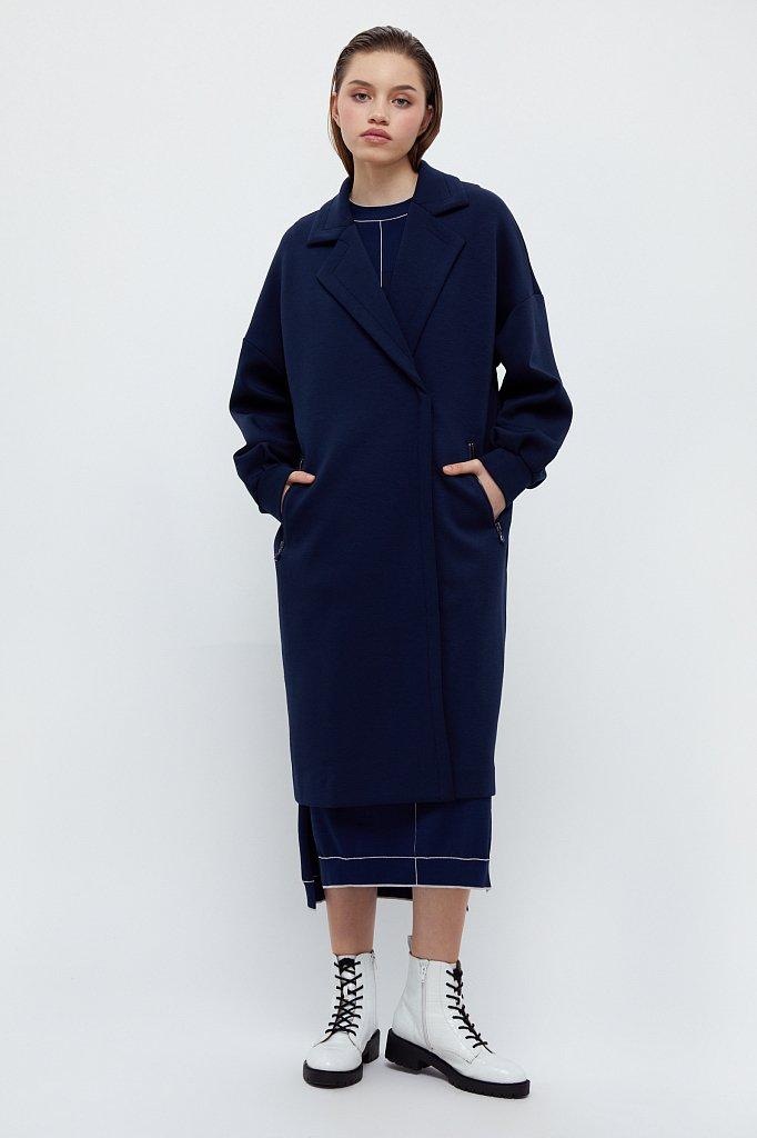 Пальто женское, Модель B21-11033, Фото №1