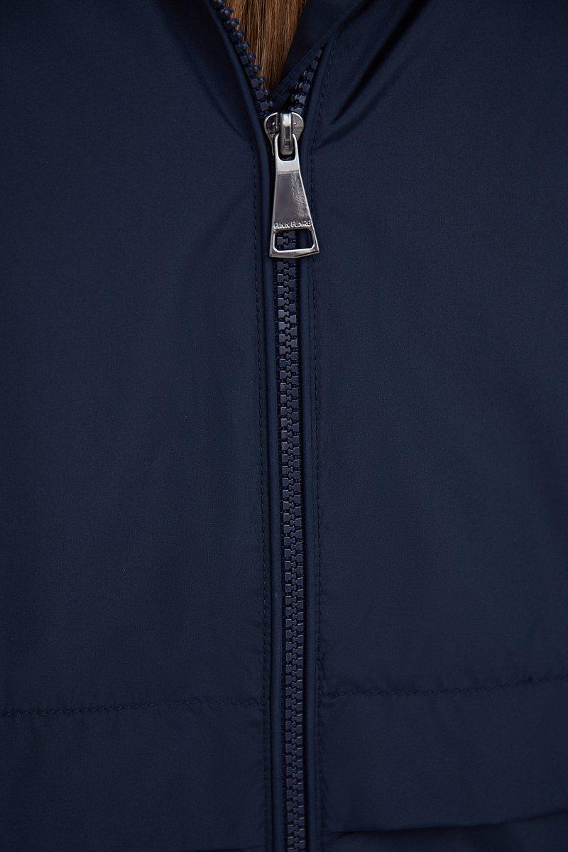 Ветровка свободного кроя с капюшоном, Модель B21-11097, Фото №5