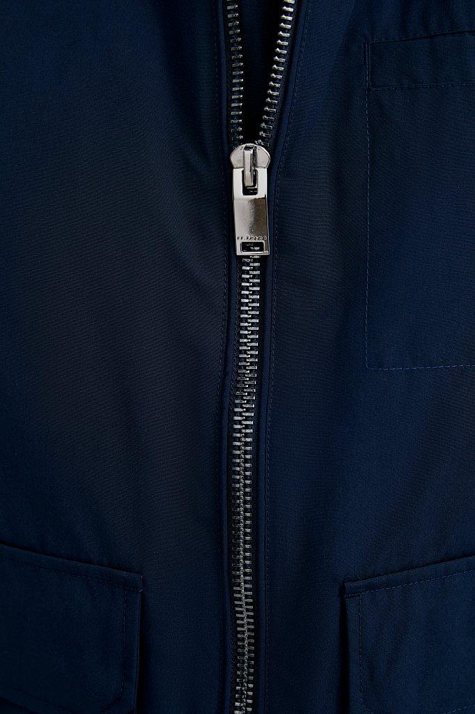Ветровка из смесовой ткани с защитой от влаги, Модель B21-21011, Фото №6