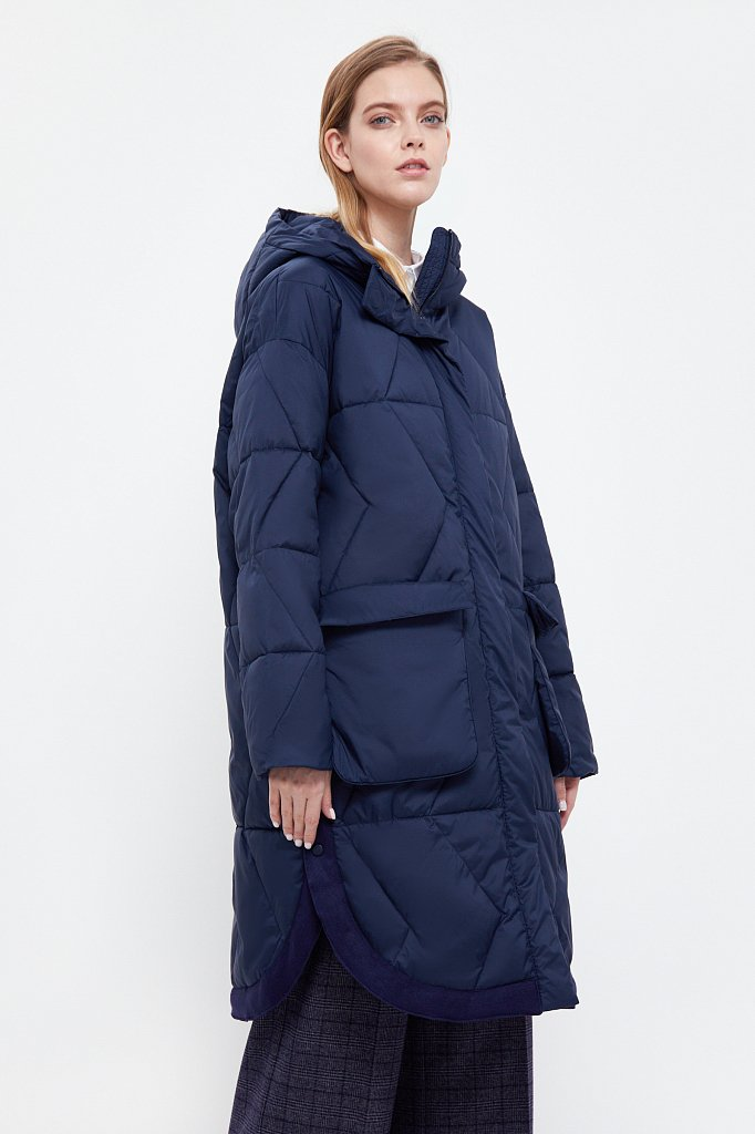 Пальто женское, Модель B21-32002, Фото №2