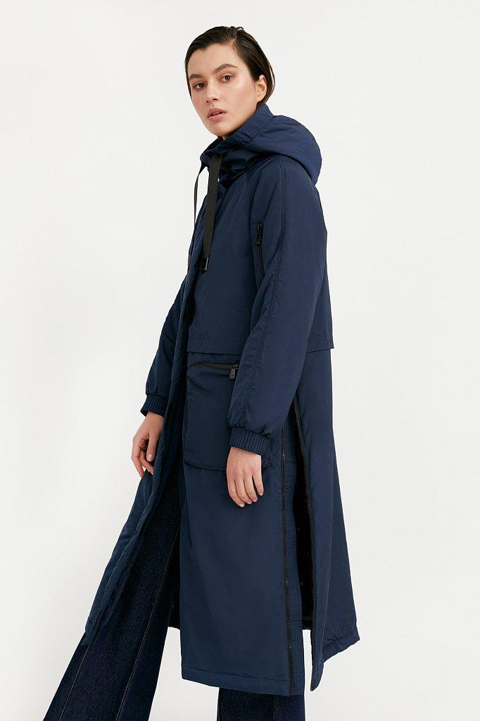Пальто женское, Модель B21-32010, Фото №1