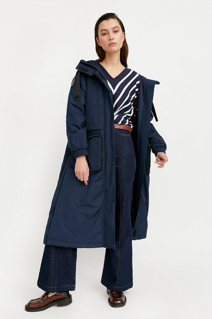 Пальто женское, Модель B21-32010, Фото №3