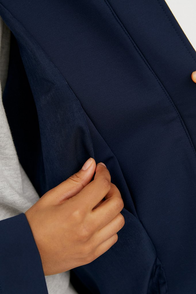 Пальто женское, Модель B21-32015, Фото №4