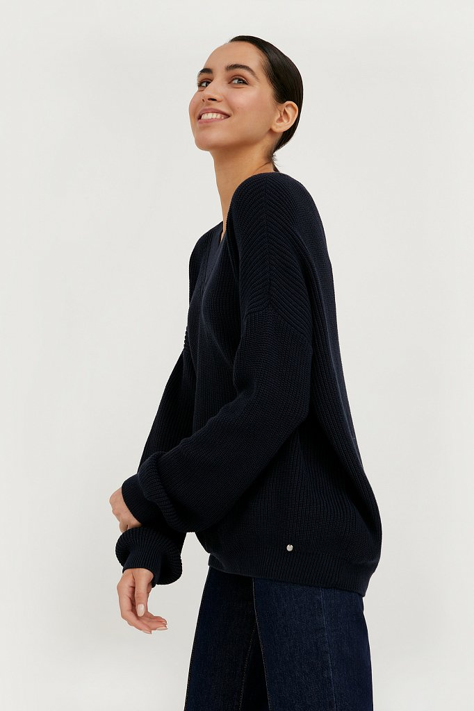 Джемпер женский, Модель B21-32129, Фото №3
