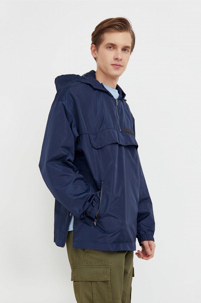 Непромокаемый анорак с капюшоном, Модель B21-42008, Фото №1