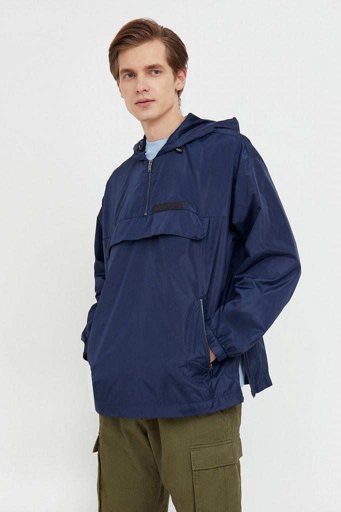 Непромокаемый анорак с капюшоном, Модель B21-42008, Фото №2