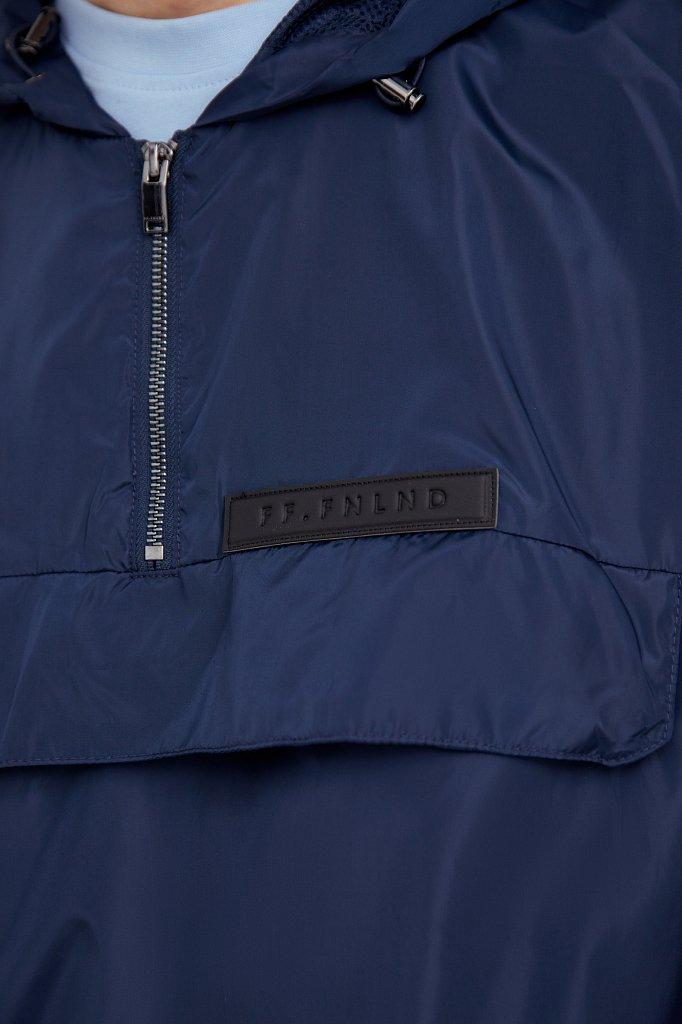 Непромокаемый анорак с капюшоном, Модель B21-42008, Фото №5