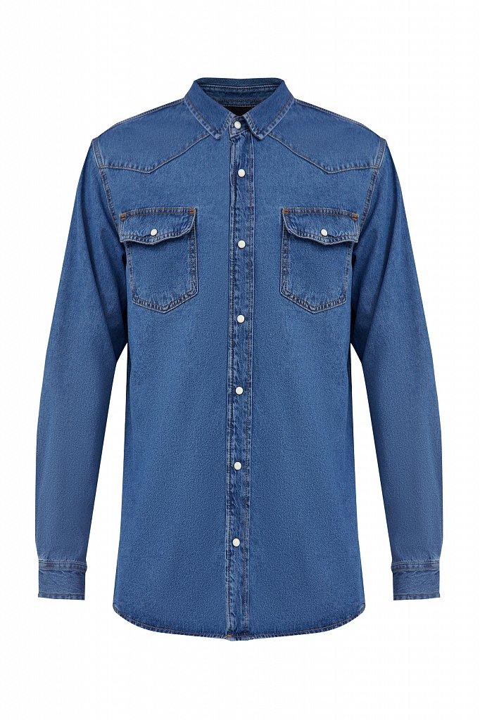 Рубашка мужская, Модель B21-25022, Фото №7