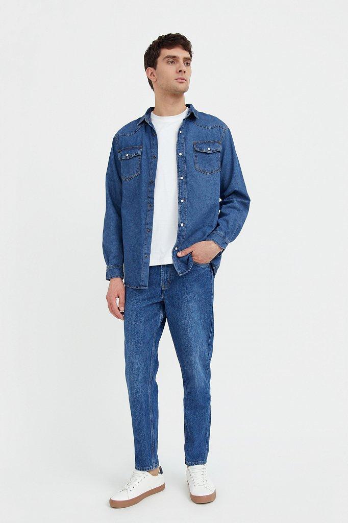 Рубашка мужская, Модель B21-25022, Фото №2