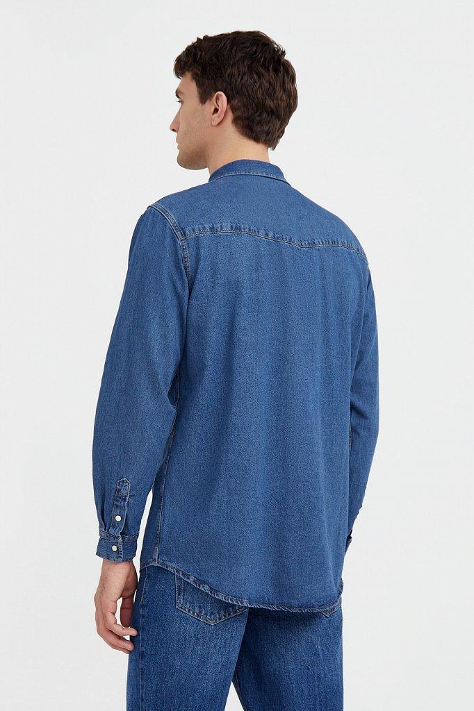Рубашка мужская, Модель B21-25022, Фото №4