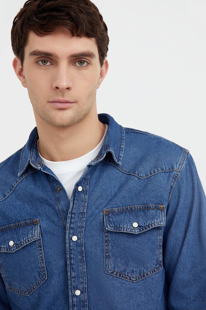 Рубашка мужская, Модель B21-25022, Фото №6