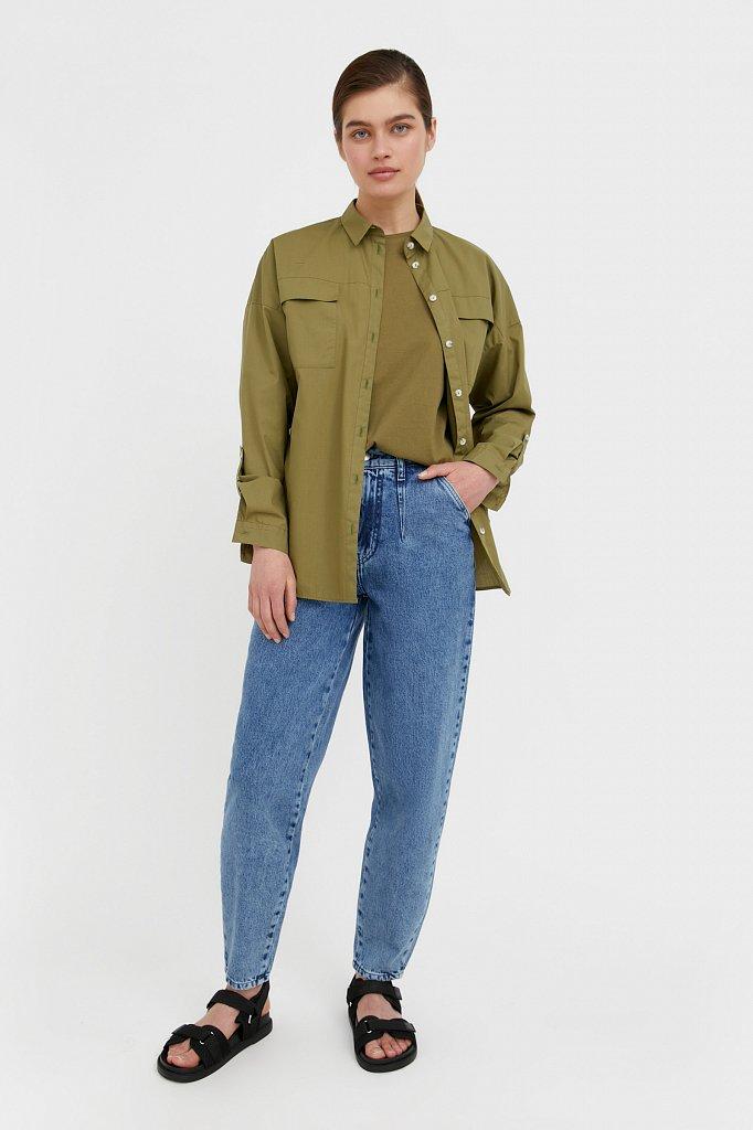 Брюки женские (джинсы), Модель B21-15006, Фото №1