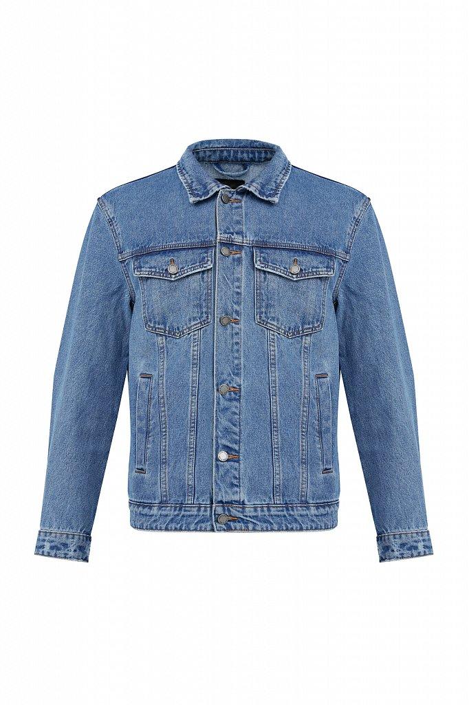 Куртка из денима, Модель B21-25000, Фото №6