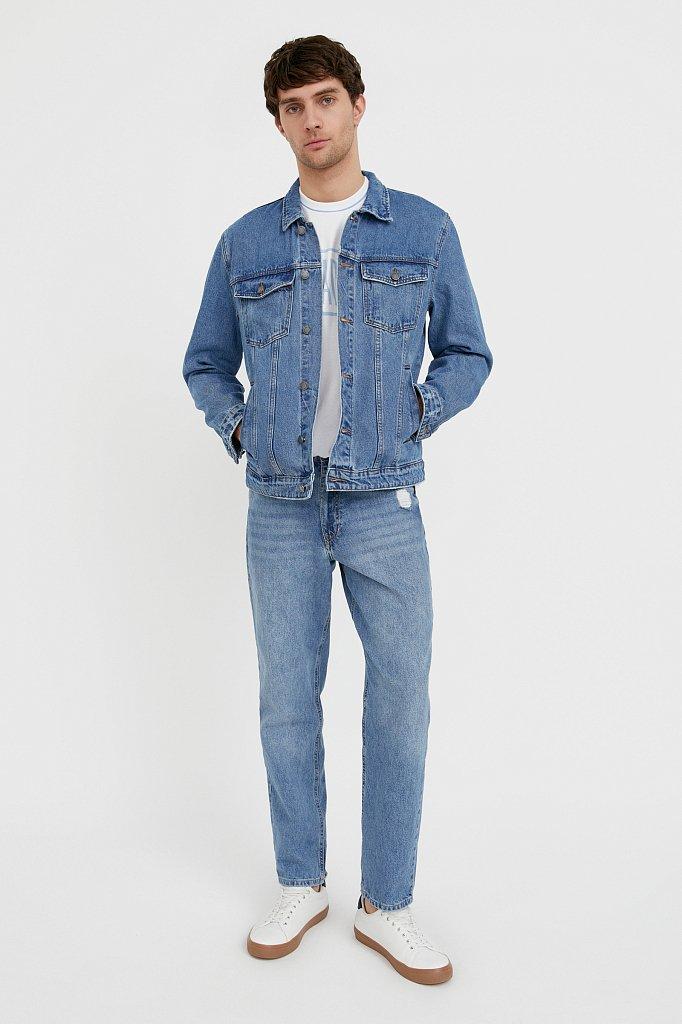 Куртка из денима, Модель B21-25000, Фото №2