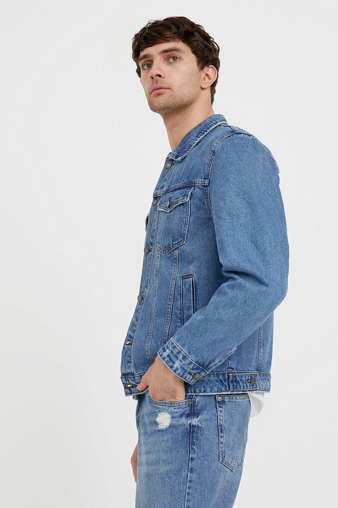 Куртка из денима, Модель B21-25000, Фото №3