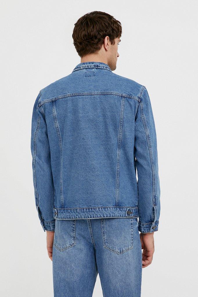 Куртка из денима, Модель B21-25000, Фото №4