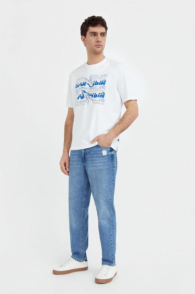Джинсы мужские, Модель B21-25018, Фото №1