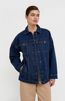 Базовая джинсовая куртка B21-15000