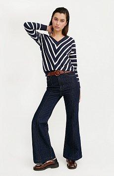 Брюки женские (джинсы) B21-15013