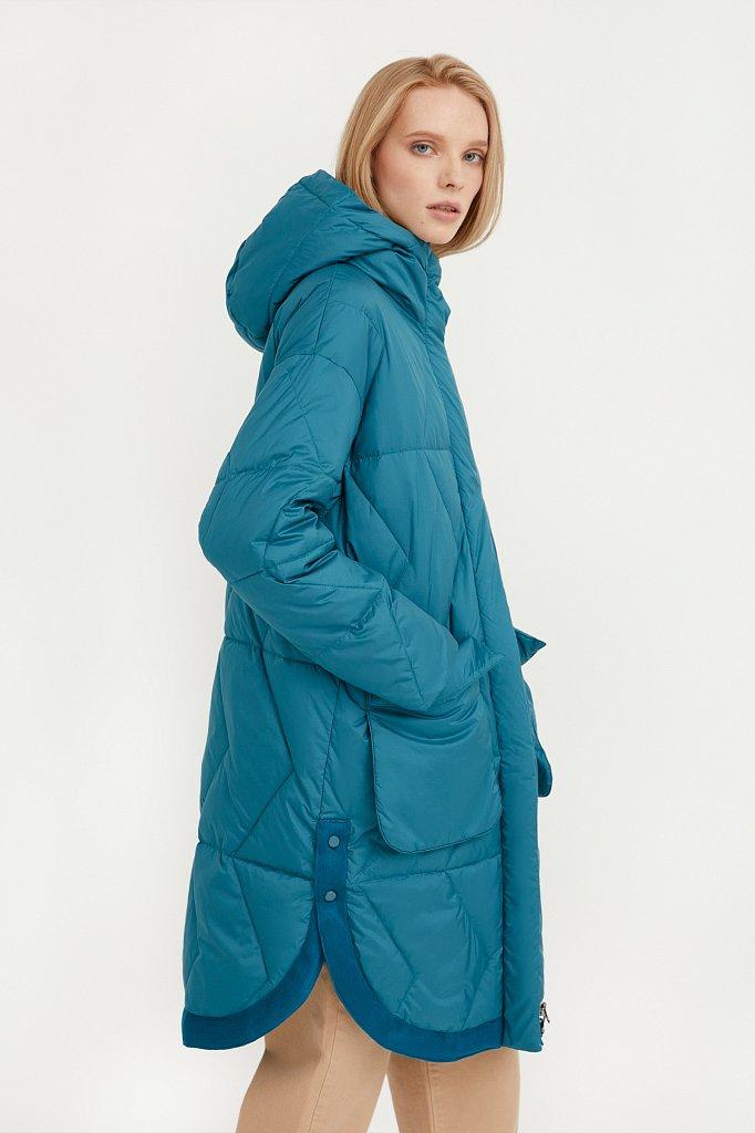 Пальто женское, Модель B21-32002, Фото №3
