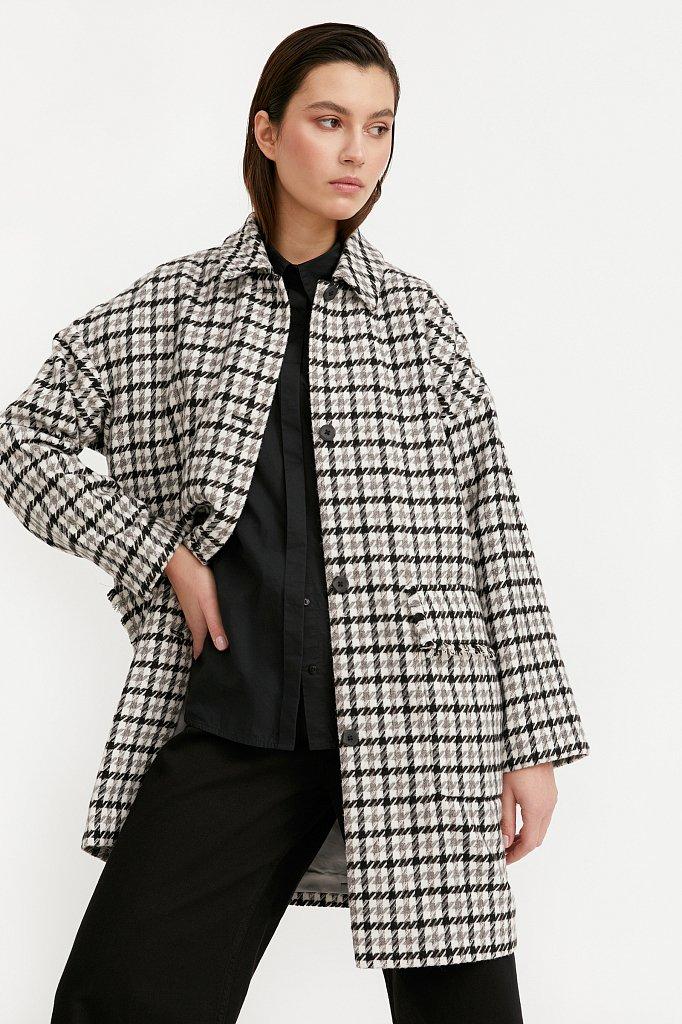 Пальто женское, Модель B21-11004, Фото №1