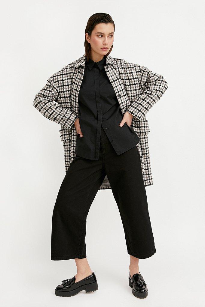 Пальто женское, Модель B21-11004, Фото №2