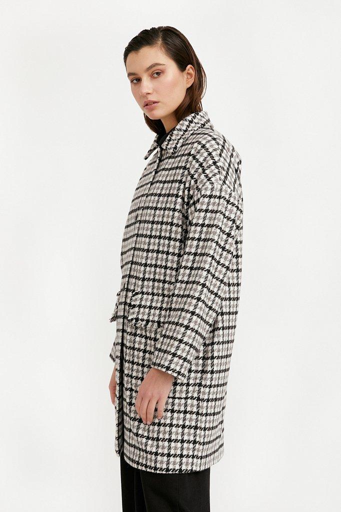Пальто женское, Модель B21-11004, Фото №3
