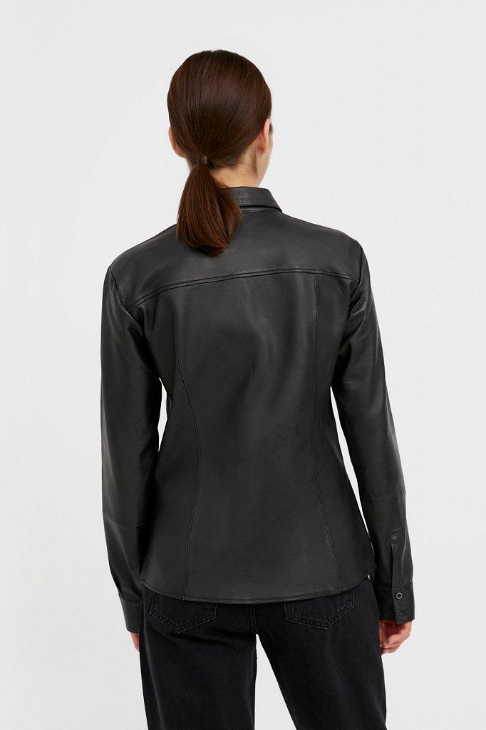 Рубашка женская, Модель B21-11818, Фото №4