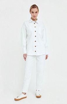 Блузка джинсовая женская Finn-Flare B21-15031