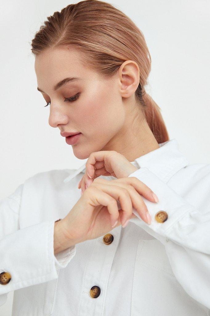 Блузка джинсовая женская, Модель B21-15031, Фото №6
