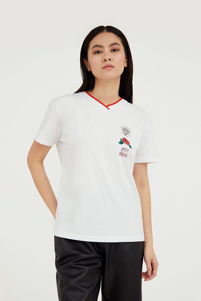 Футболка женская, Модель B21-32050, Фото №2