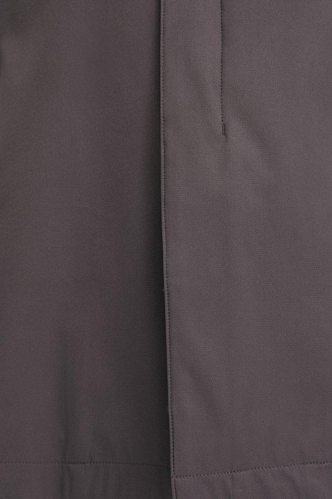 Классический плащ из технологичной ткани, Модель B21-21005, Фото №6