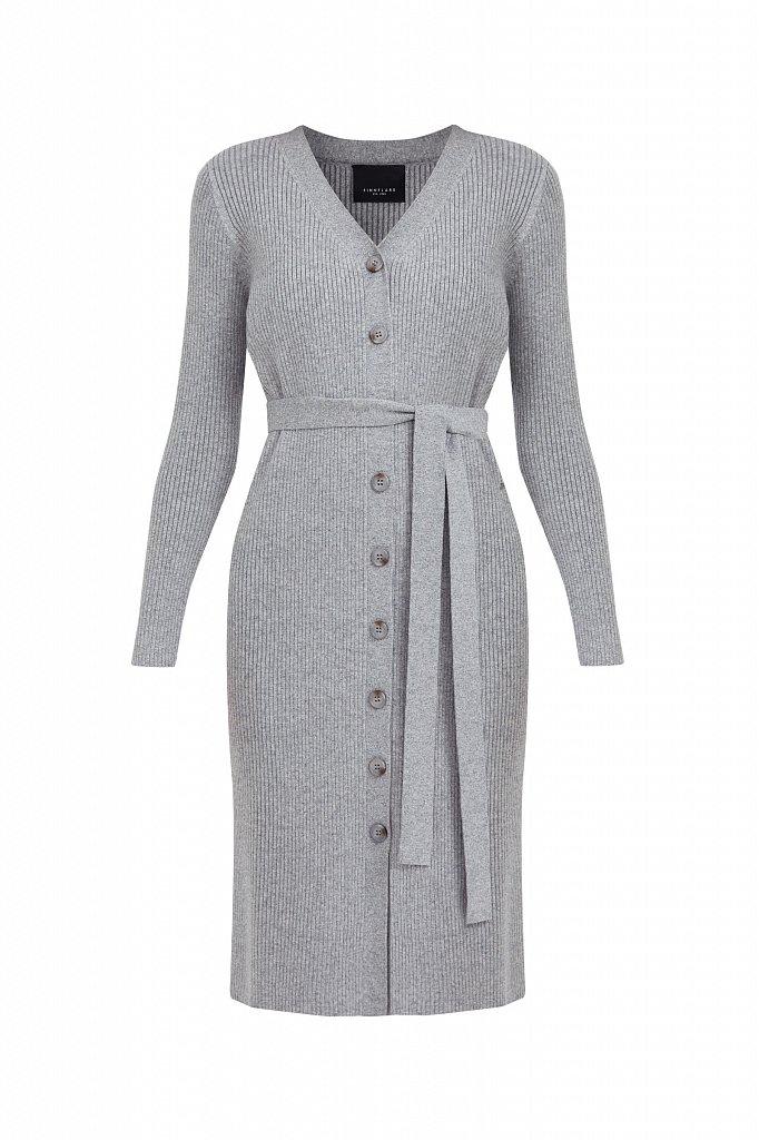 Трикотажное платье-рубашка, Модель B21-11143, Фото №7
