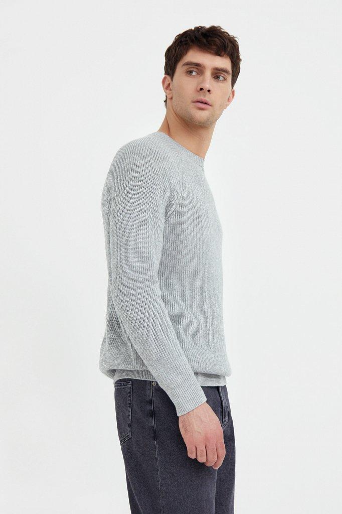Джемпер мужской, Модель B21-22106, Фото №3