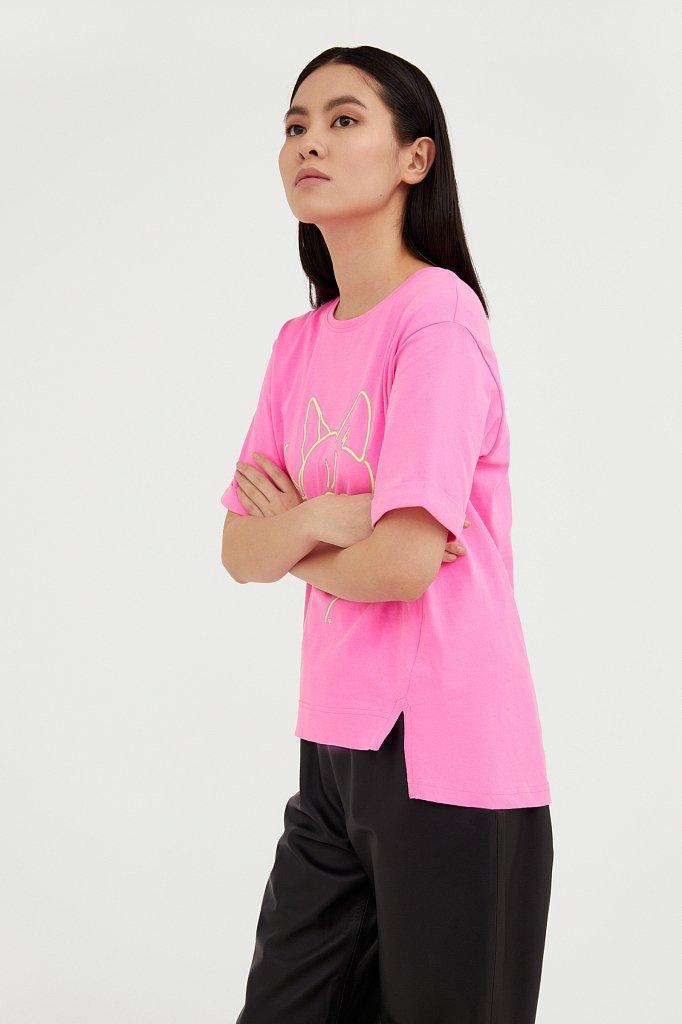 Футболка женская, Модель B21-32028, Фото №3